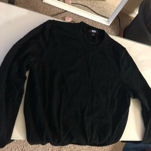 Uniqlo 100% Wool Long Sleeves Shirt